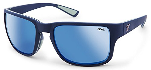 Zeal Optics Cascade Sunglasses Eyewear Navy Blue/Horizon - Zeal Sunglasses