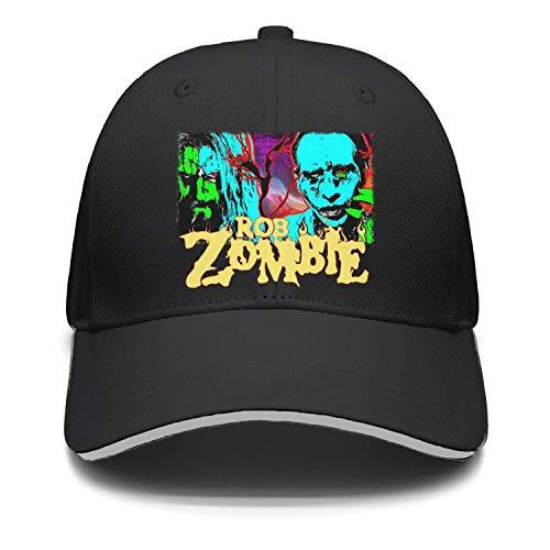 Mawan Marilyn-Manson-and-Rob-Zombie- Baseball Cap Hip Hop Mesh Trucker Hat Snapback]()