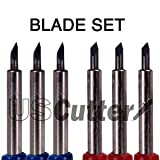 6-Pack Roland Type Replacement Carbide Blade Set