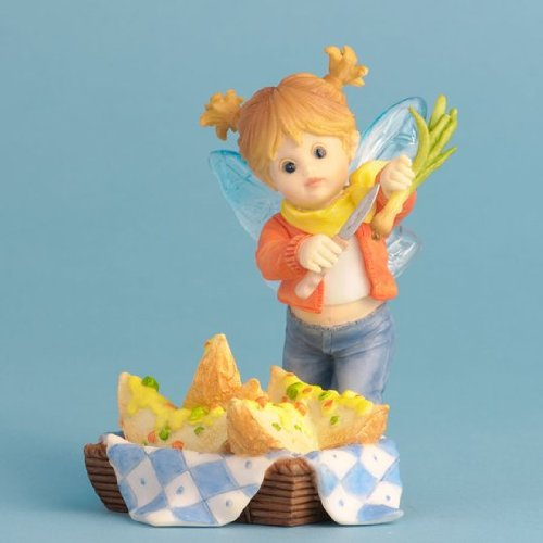 Enesco My Little Kitchen Fairies Potato Skins Fairie Figurine, 4-Inch