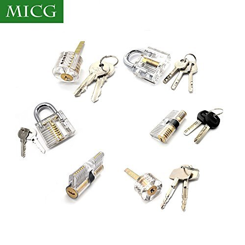 micg-6pcs-locks-transparent-visible-cutaway-practice-kit-padlock-door-lock-pick-training-skill-for-l