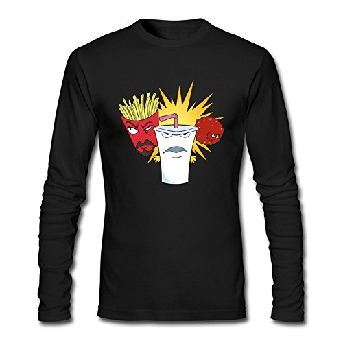 Men's Aqua Teen Hunger Force DIY Cotton Long Sleeve T Shirt
