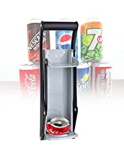BIWASimple Aluminium Blikopener,Heavy-duty Kitchenaid,Muur Gemonteerde Kan Opener Voor Seltzer,Soda,Bier Blikjes en Flessen Voor Recycling