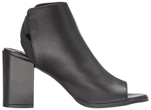 Steve Madden Women's Mindy Dress Sandal, Black, US US Black Leather