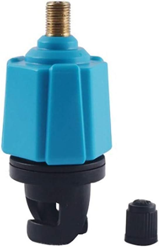 Adaptador de válvula de bomba HUIHUAN - Adaptador de válvula de aire de bote inflable para canoa inflable Kayak Adaptador de válvula de bomba de bote Placa de pie Tablero de paleta Accesorio de kajak