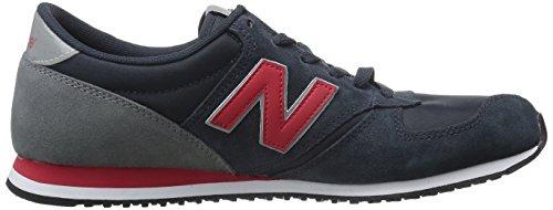 New Balance Herren U420v1 Sneakers Blau (Blue/Red)