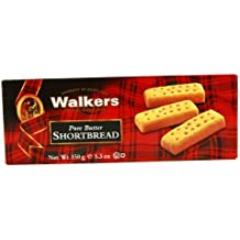 Walkers Shortbread Fingers, 5.3 Ounce, Traditional and Simple Pure Butter Shortbread Cookies from the Scottish Highlands, Quality Ingredients, Free from Artificial Flavors