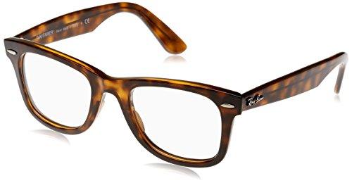 Ray-Ban RX4340V Wayfarer Eyeglass Frames, Tortoise/Demo Lens, 50 ()