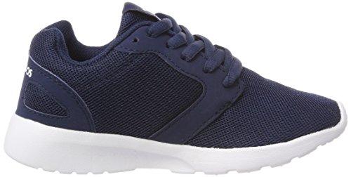 KangaROOS Damen Nihu Sneaker, Blau (Navy/White), 41 EU