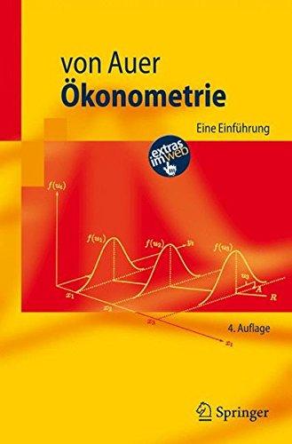 Ökonometrie: Eine Einführung (Springer-Lehrbuch) (German Edition) by Springer