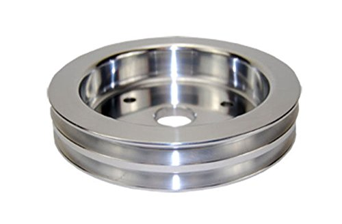 BBC Chevy 396-454 Machined Aluminum SWP Double Groove Crankshaft (Groove Crankshaft Pulley)
