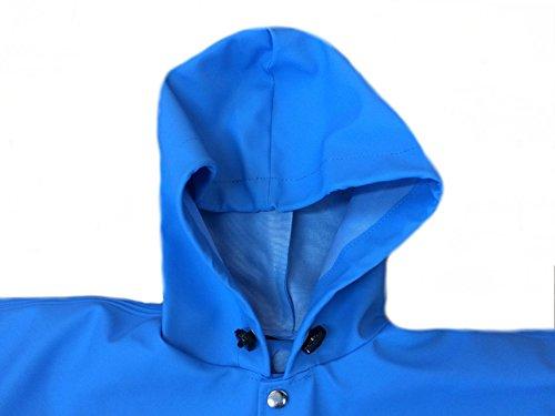 Imperméable Waders À Bleu Veste Enfants Pluie Poitrine Coupe Vêtements Correspond 3kamido vert vent La Enfant De Bleu qX7Cwx44S