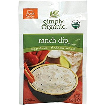 Simply Organic Dip Mix Ranch Org Simply Organic Ranch