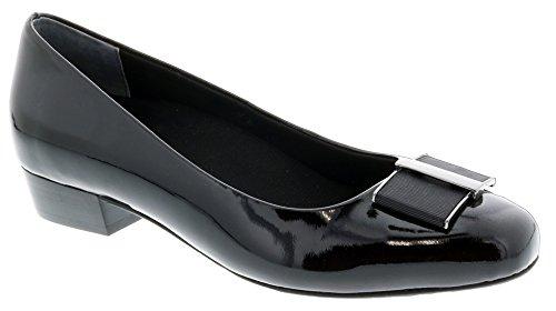 Ros Hommerson Twilight 74032 Women's Dress Shoe: Black/Pat 13 Medium (B) Slip-On