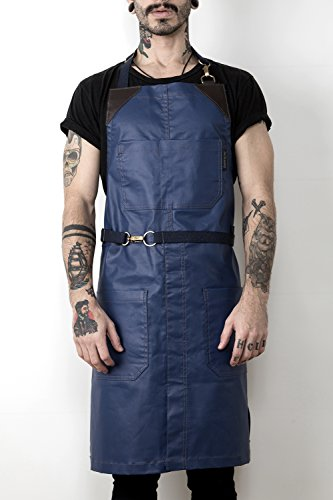 leather apron split - 6