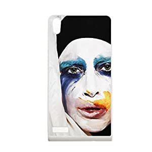 Generic Smart Design Phone Cases For Boy Print With Lady Gaga For Huawei P6 Choose Design 1
