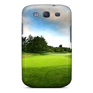 For Galaxy S3 Premium Tpu Case Cover Golf Course Sport Protective Case