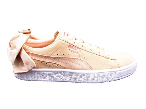 Puma Beige Val Wn's Suede 36 Bianco Beige 01 367609 Sneakers Bow rBqwFxnfrg