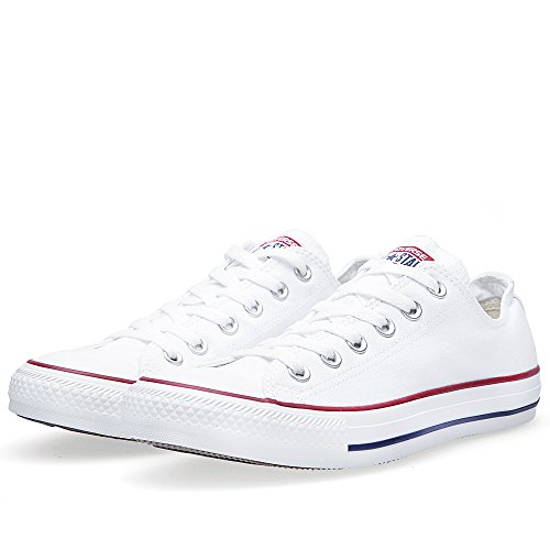 Converse Unisex Chuck Taylor All Star Low Top Sneakers –  (Optical White ) – 7 B(M) US Women / 5 D(M) US Men