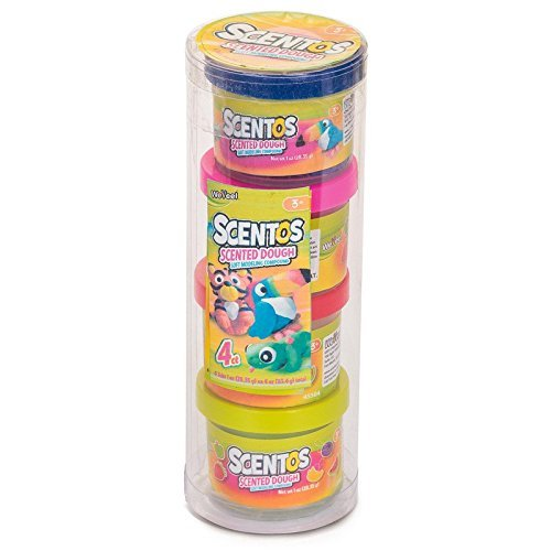 Scented 1oz Tube Mini Dough - 4pk (Dough Scented)