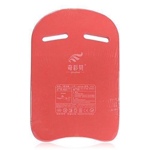 QHGstore Schwimmen Schwimmen Safty Pool Ausbildungshilfe Kickboard Bordwerkzeug Float Rot