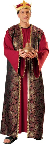 Wise Men Costumes (Rubie's Men's Three Wise Men Adult Gaspar, Multicolor, One Size)