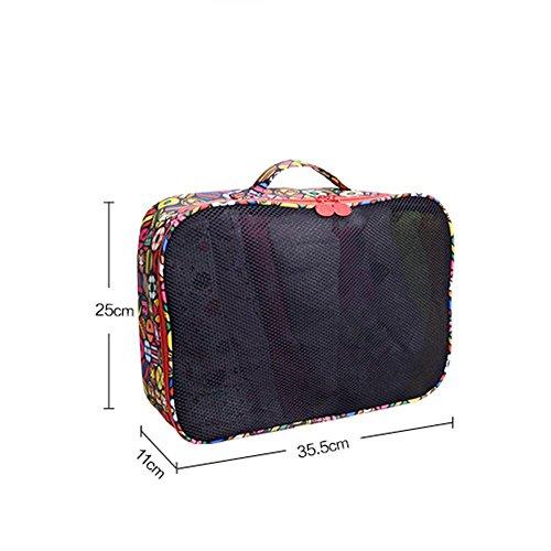 GBT Wash Bag Kosmetiktasche Schutt Eintritt Paket Reise unerlässlich