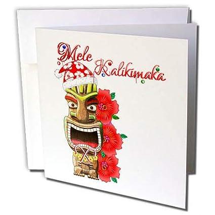 Mele Kalikimaka Christmas Cards.Amazon Com 3drose Macdonald Creative Studios Mele
