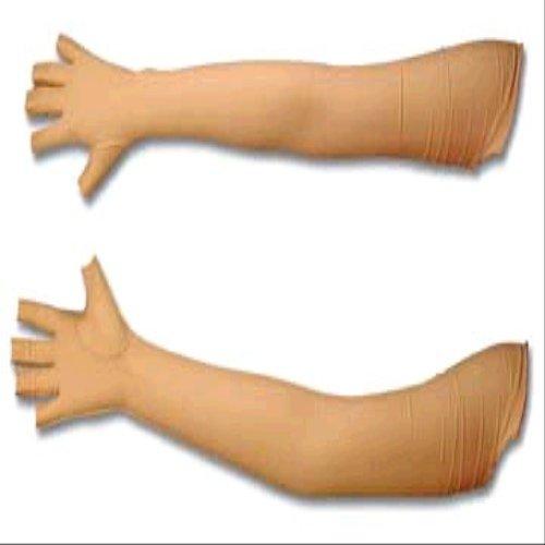 Edema Glove Open Finger Shoulder Length : Large, Left ()