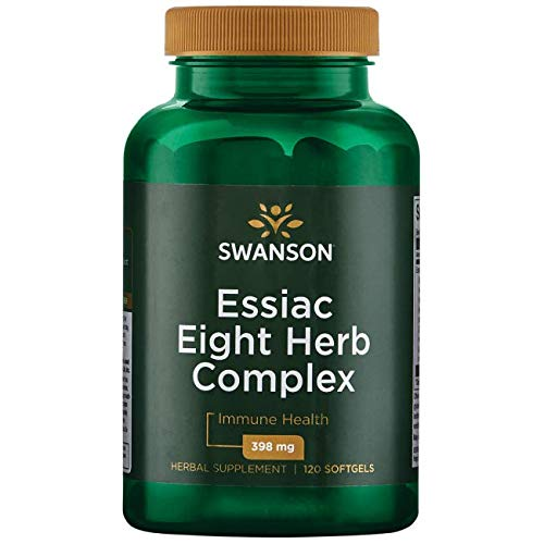 Cheap Swanson Essiac Eight Herb Proprietary Blend 398 Milligrams 120 Sgels