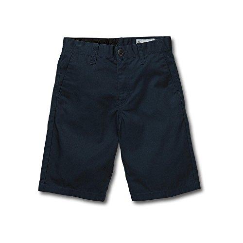 Volcom Big Boys Frickin Chino Short, Service Blue, 24