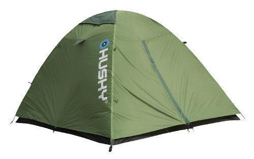 Husky Bret 2-Personen-Zelt, grün, Kuppelzelt Husky Extrem-Litezelt mit Duralaluminiumgestänge