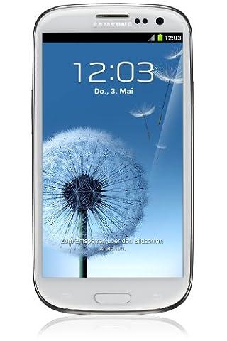 Samsung GT-I9300RWDBTU Unlocked Galaxy S3 i9300, 16GB (Marble White) (Galaxy S3 Straight Talk New)