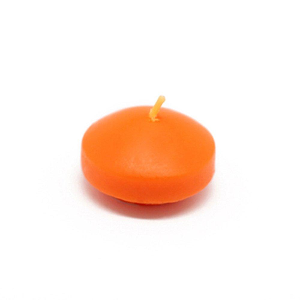 Orange 1.75 Jeco Inc Zest Candle CFZ-006/_12 288-Piece Floating Candle 1.75