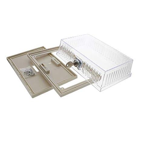 BRAEBURN 5970 Protector universal para termostato con cerradura