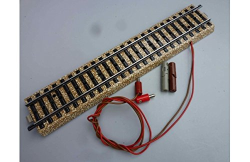 MARKLIN HO M Tracks All Metal Feeder Straight Track Built-in Capacitor for Radio Interference Suppression 5131