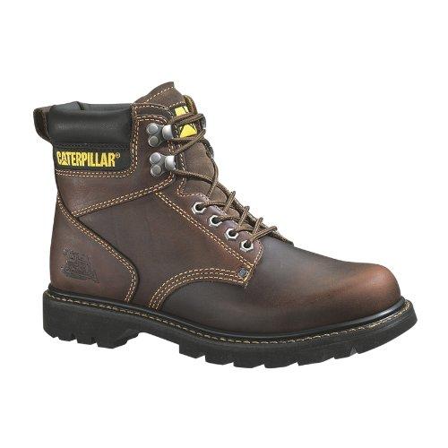 Caterpillar Men's 2nd Shift 6'' Steel Toe Boot,Tan,11.5 M US