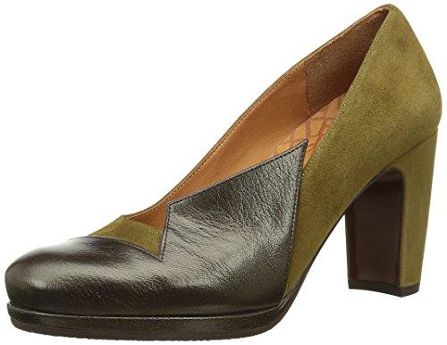 Chie MiharaVarda - Zapatos de Tacón Mujer Marrón (Baza Testa/Ante Oliva)