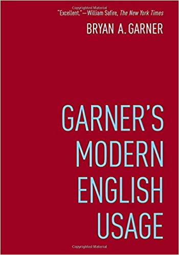 Image result for garner's modern english usage
