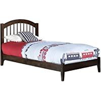 Windsor Open Foot Bed, Twin, Walnut