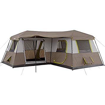 Ozark Trail 16 X Instant Cabin Tent Camping Outdoors Family Sleeps 12 Person