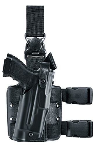 Safariland 6305 ALS Tactical Leg Holster with Detachable Leg Harness, Black, STX, Right Hand, S&W M&P -