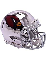 Riddell Chrome Arizona Cardinals Speed Mini Football Helmet - 2018 Chrome Alternate
