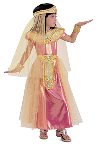 [Princess Paradise Princess Cleo Costume, Multicolor, Medium (8)] (Nefertiti Halloween Costumes)