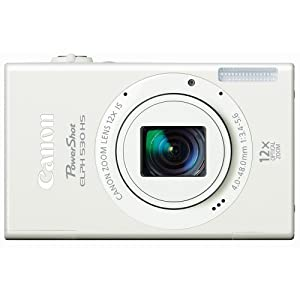 Canon PowerShot ELPH 530 10.1MP Digital Camera with 3.2-Inch TFT LCD