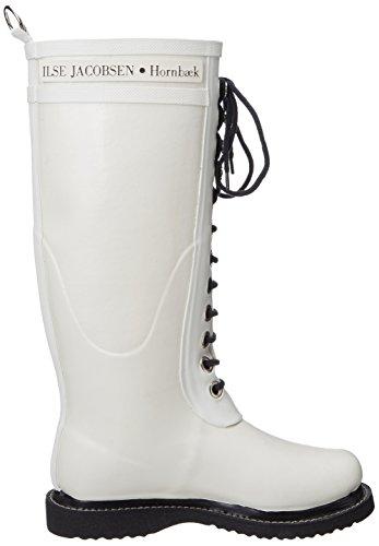 Ilse Jacobsen Womens Rub 1 Rain Boot White