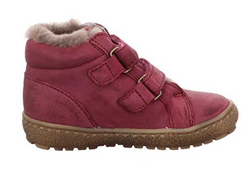 Bisgaard Sneaker m. Fell Klettverschluß pink Pink