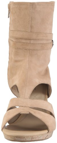Marc Shoes Tavera 1.455.05-21/311 - Sandalias de cuero nobuck para mujer Beige