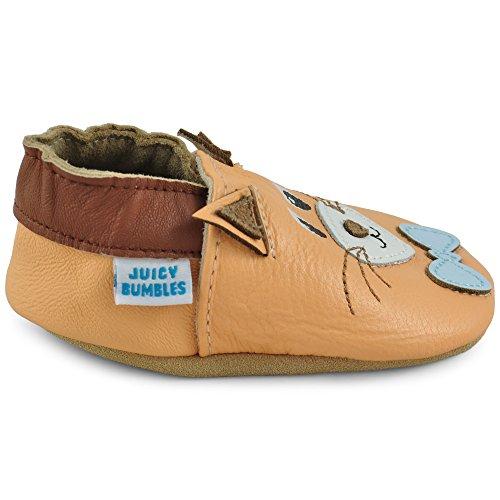 Piel Para Gato Patucos De Infantiles Bebe 18 Pantuflas Elástico Niña Zapatos 24 El 0 Con 12 – Mambo 6 12 18 Bebé Zapatillas Primeros Zapatitos Pasos Niño Cuero 6 Meses w8wPC0q