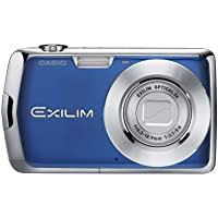 Casio Exilim EX-S5 10MP Digital Camera with 3x Optical Zoom and 2.7 inch LCD (Blue) Basic Facts Review Image